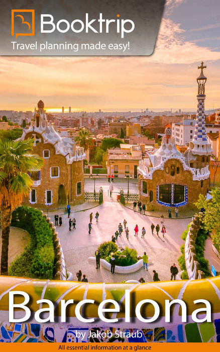 Jakob writes - Booktrip Barcelona City Guide