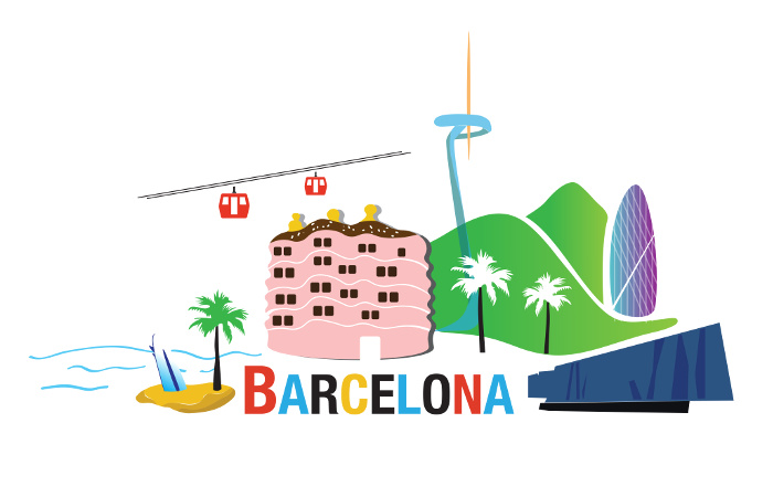 Jakob writes - Booktrip Barcelona cover
