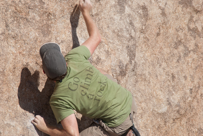 Jakob writes - Beginner's Guide to Rock Climbing - rappel