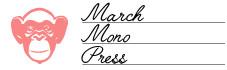 March Mono Press - digital publishing agency - logo