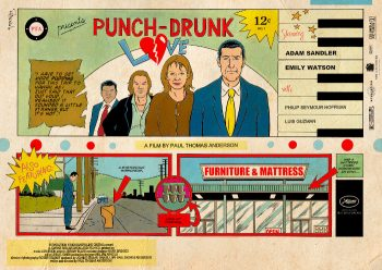 Jakob writes - How To Stand Out With Great Poster Design - Punch Drunk Love