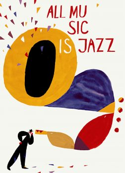 Jakob writes - How To Stand Out With Great Poster Design - Autumn Jazz