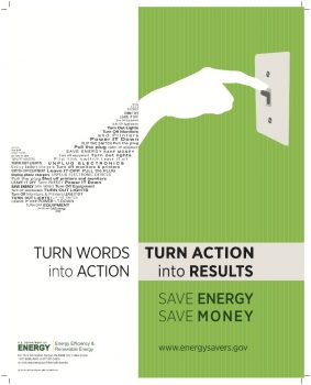 Jakob writes - How To Stand Out With Great Poster Design - Energy Savings