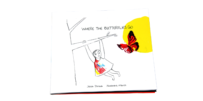 Jakob writes - Where The Butterflies Go - cover
